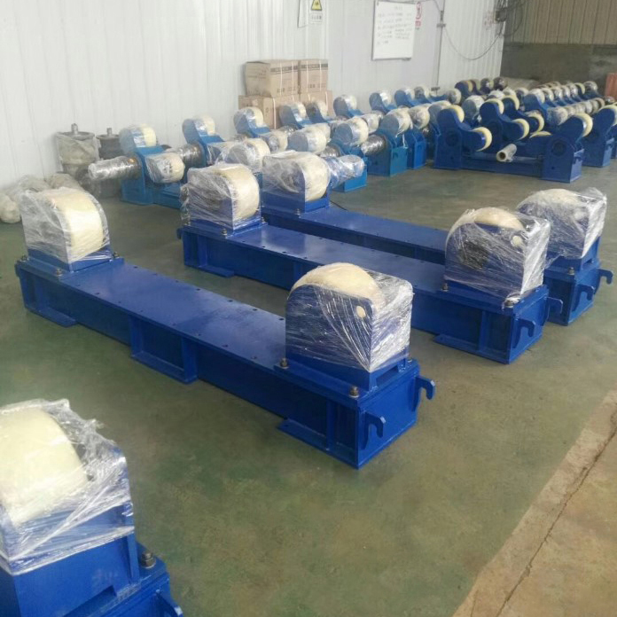 河南直銷5噸10噸20噸焊接滾輪架 可調滾輪支架806599792