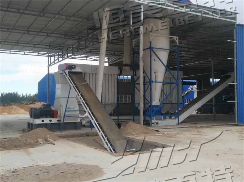 傢俱廢木頭料加工設備 大型生物質燃料顆粒機廠家793080312