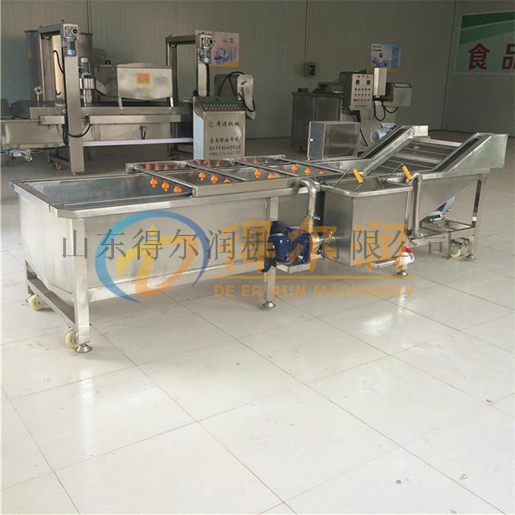 G 香葱清洗机 自动化喷淋水浴洗葱机 洗葱生产线809347782