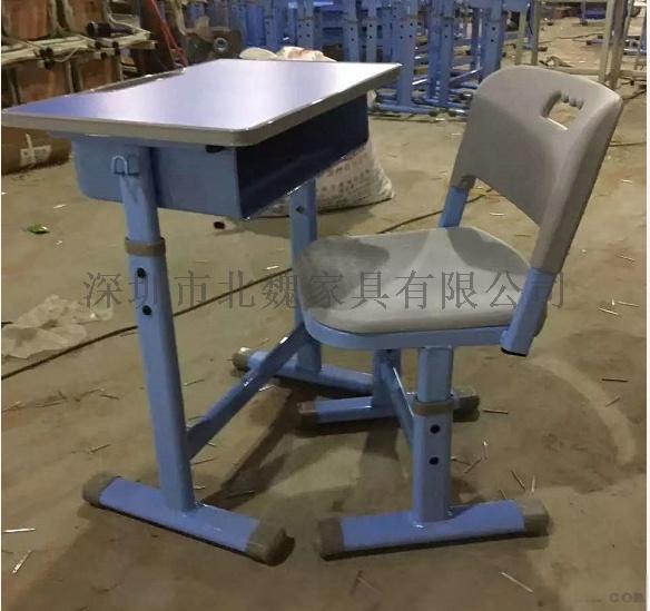 abs单人小学生塑料升降课桌椅厂家96077505