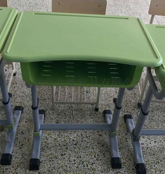 abs单人小学生塑料升降课桌椅厂家96077385