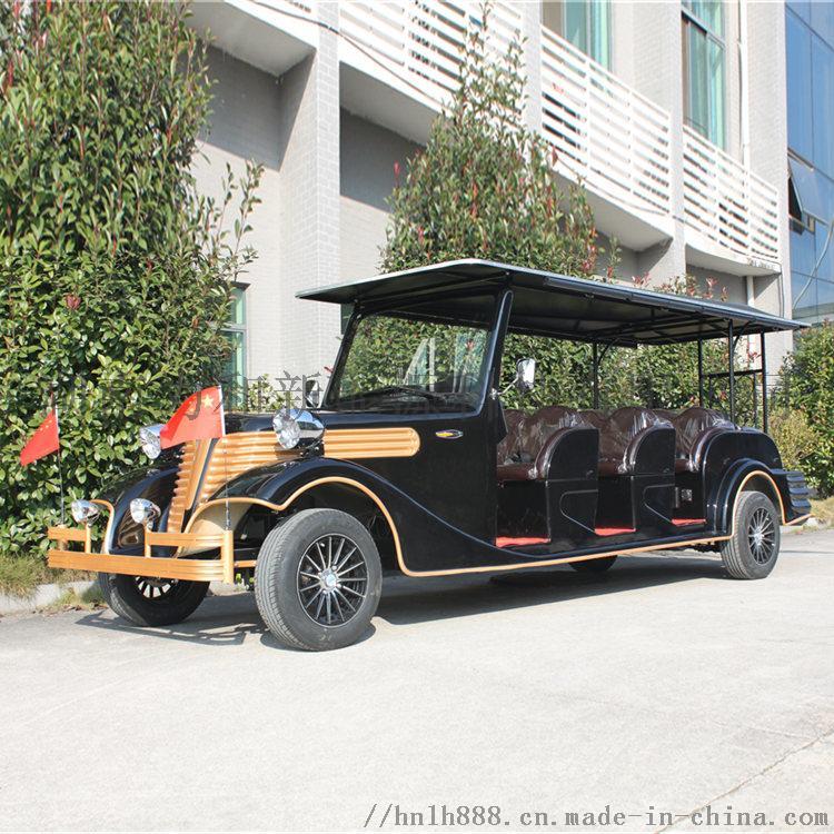 12座豪華復古電動觀光車 貴賓接待車 爵士黑810158412