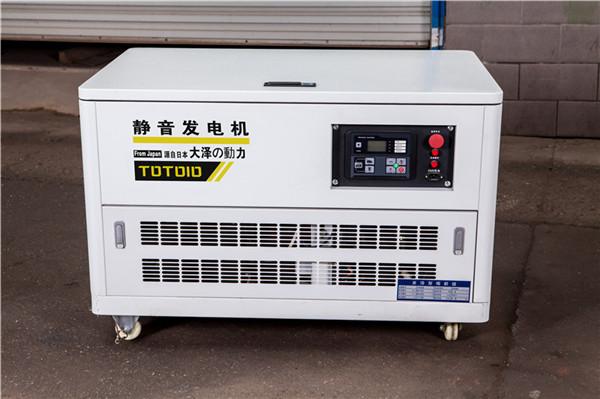 大泽动力10kw无刷静音汽油发电机TOTO10812740022