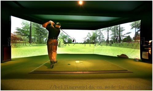 高速攝像模擬高爾夫設備球場軟件系統專業技術品牌775928452