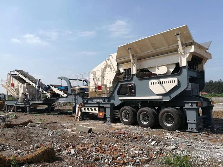 流动碎石机 自击式破碎机 移动破碎站多少钱反击式石灰石破碎机801358442