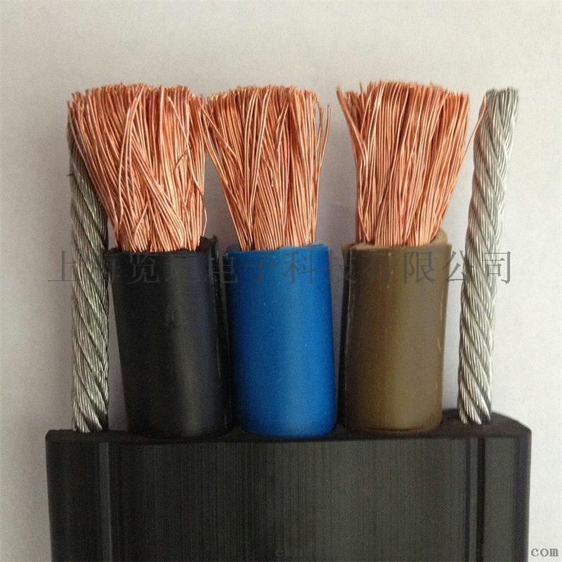 带钢丝起重机扁平电缆.JPG