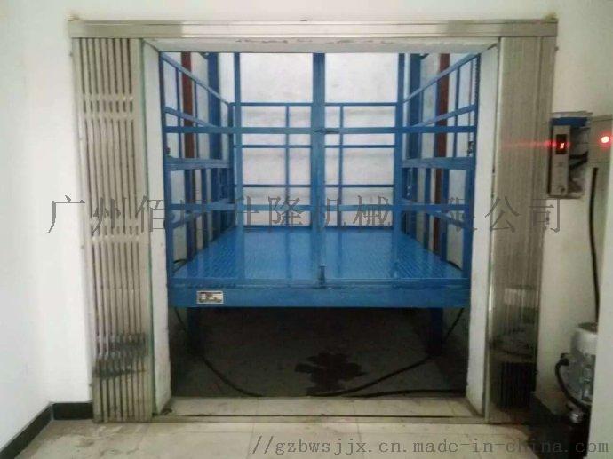 深圳液壓貨梯廠家供佰旺牌梅林液壓升降貨梯無機房貨梯848141115