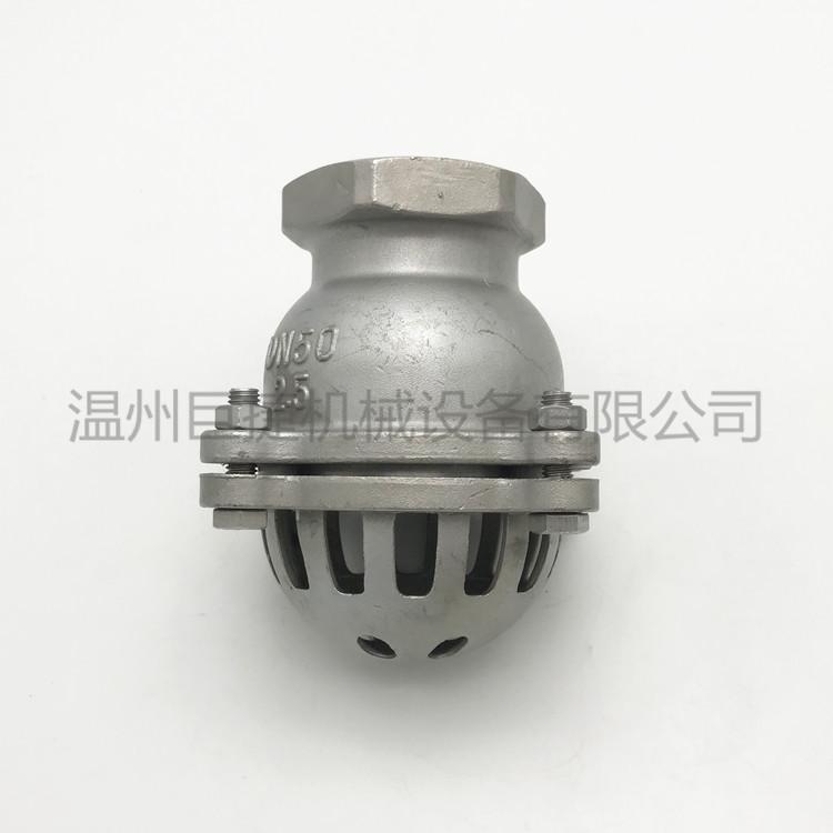 304不鏽鋼底閥法蘭底閥升降式底閥井底閥DN50109416255