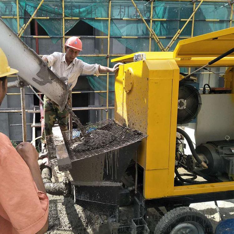 源头工厂细石混凝土输送泵小型细石混凝土输送泵85921465