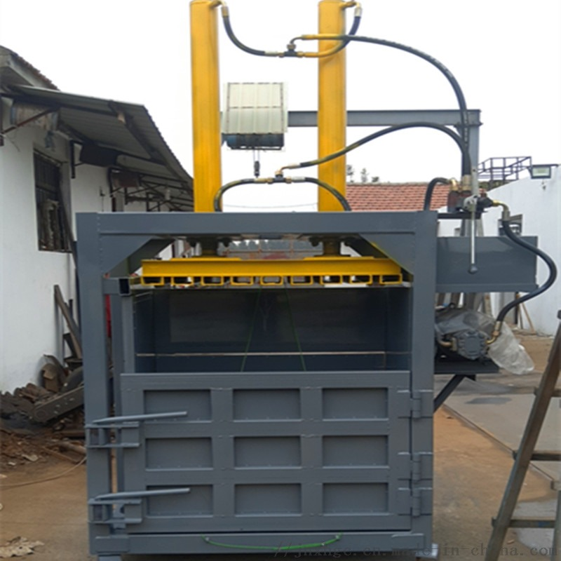 纸板立式油压捆包机 山东30吨现货油压捆包机130179952