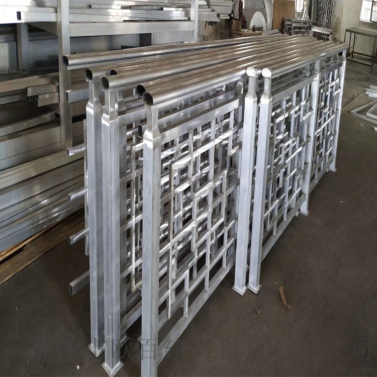 中式型材铝窗花 广东欧百得6系合金铝窗花111179762