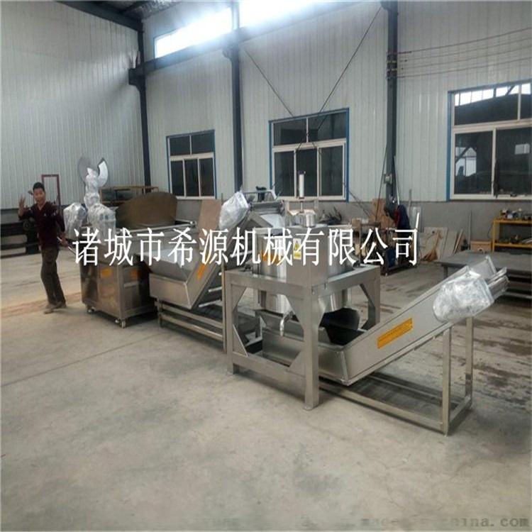 油炸土豆片加工设备供应商 土豆片油炸生产线102586852