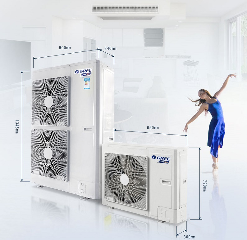 北京格力中央空调家用户式别墅家庭系列 格力风管机117763352