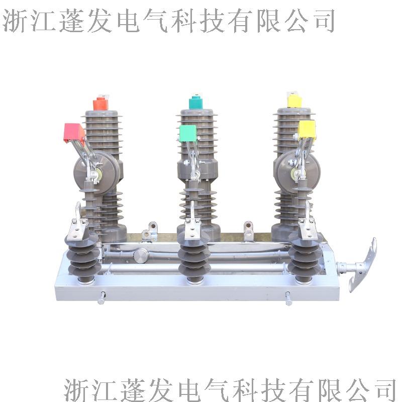 zw32真空斷路器 手動隔離 柱上開關 蓬發電氣800157112