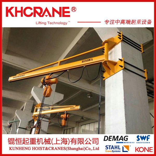 上海錕恆銷售車間專用500kg定柱懸臂吊 牆壁吊109931475