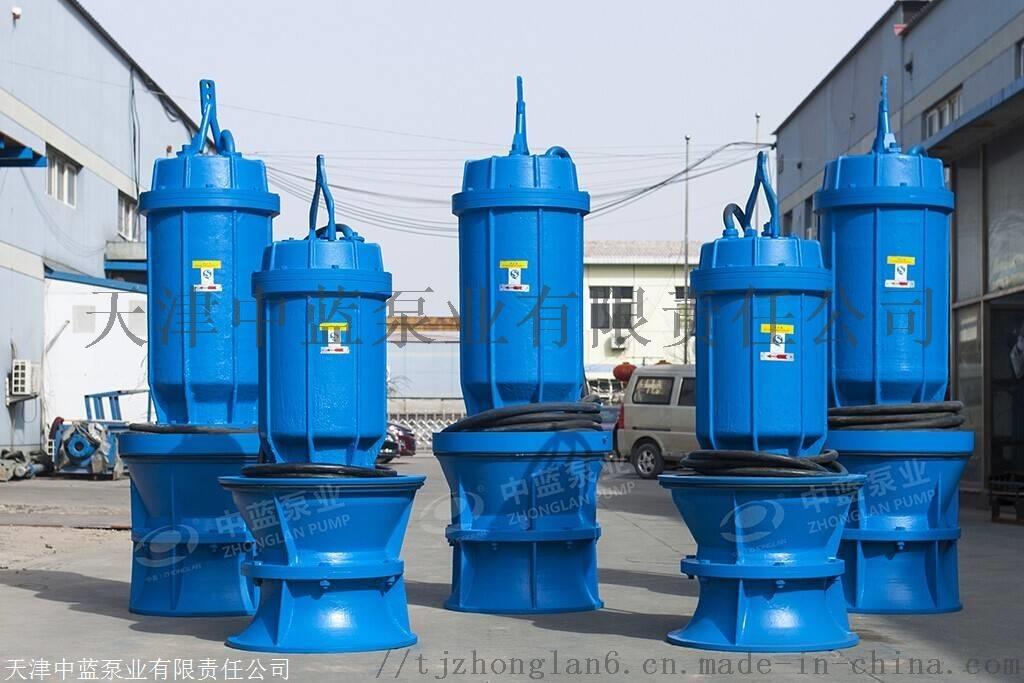 悬吊式安装潜水轴流泵 雪橇式轴流泵厂家812414452