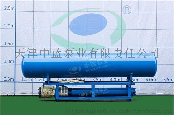 浮筒安装深井泵适用水上作业781317482