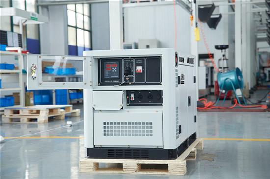 无刷10kw静音柴油发电机体积大泽动力100963602