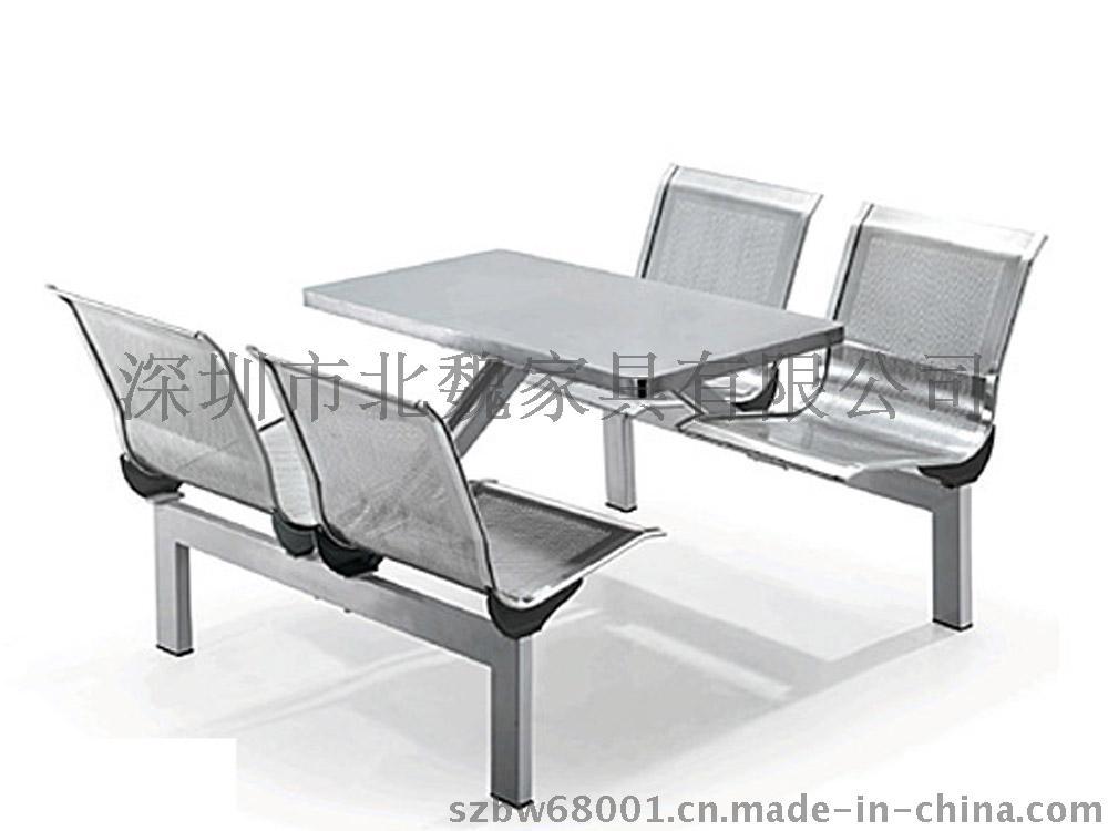 连体餐桌椅图片、食堂连体餐桌椅、玻璃钢快餐桌椅、玻璃钢餐桌椅、玻璃钢餐桌690877125