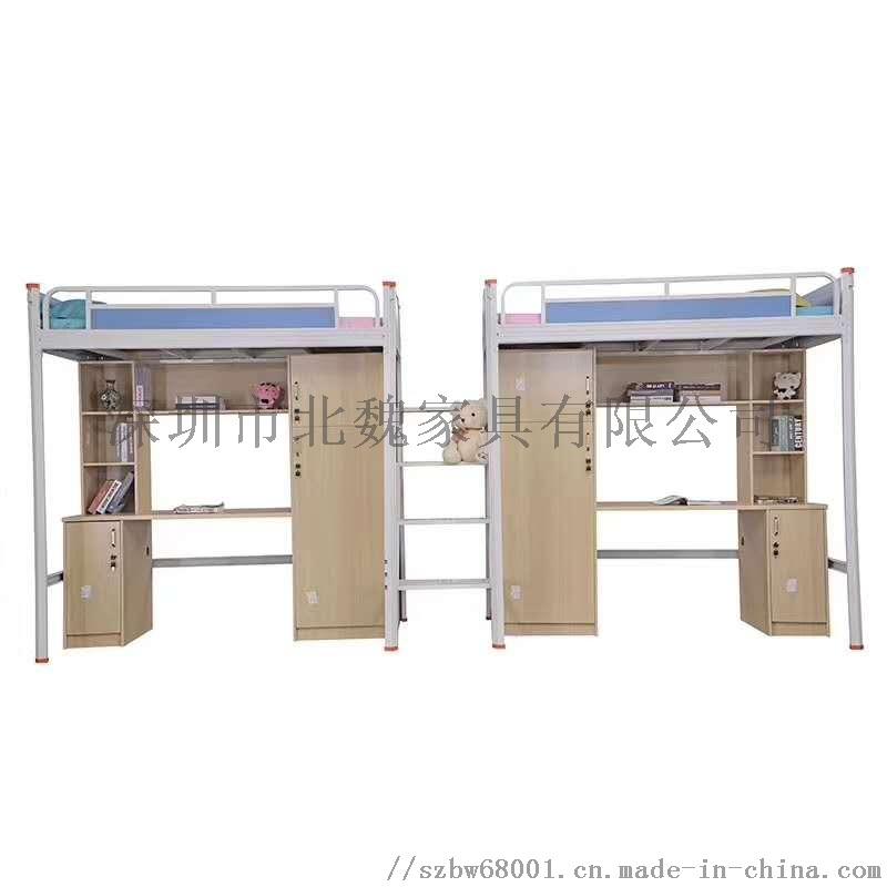 深圳学生床双层床-公寓床双层床-上下铺铁床厂家139674235