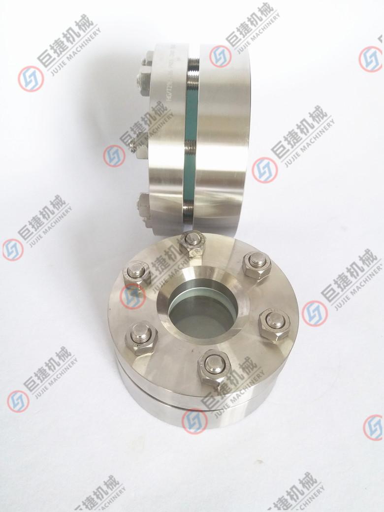 不锈钢法兰视镜 HG/T21619对夹法兰视镜37656735