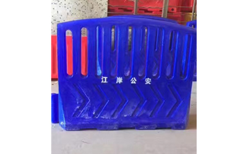 蓝色扇形水马M