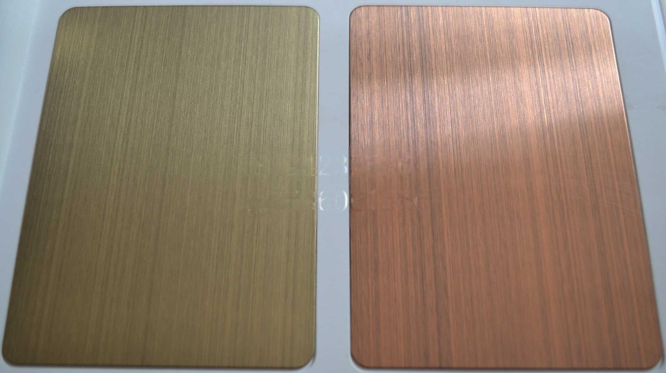 提供不锈钢板不锈钢管表面处理拉丝蚀刻镀色工厂7910255