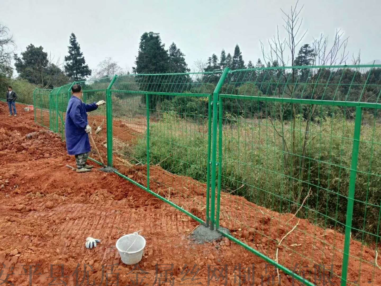 固原铁网围墙护栏绿色现货铁网围栏铁丝网护栏厂家77119395