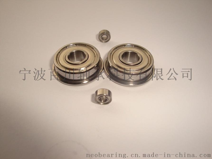 SF602ZZ 专业生产 微型不锈钢法兰轴承44770912