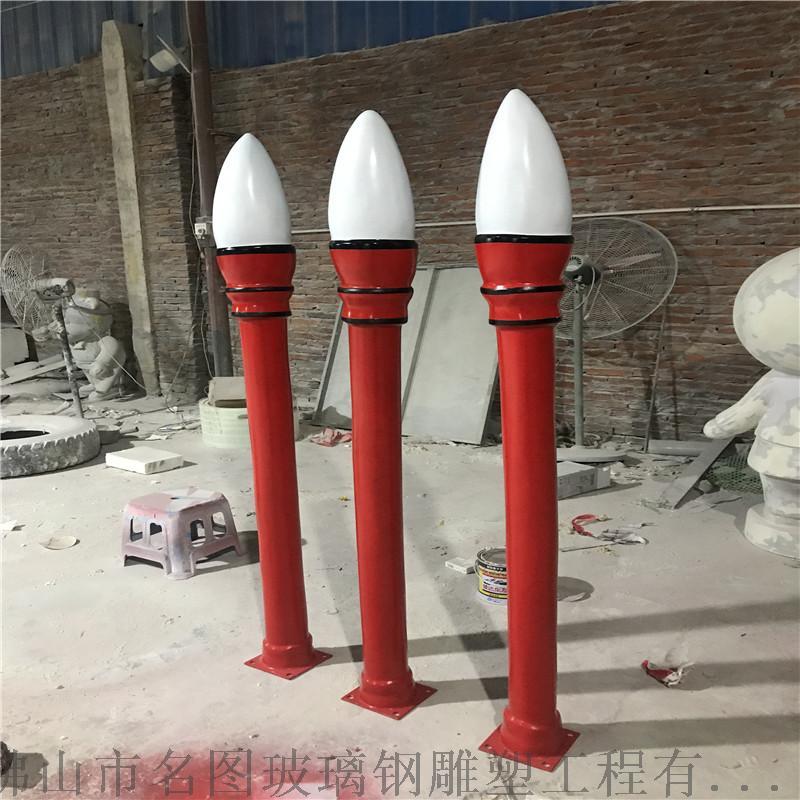 玻璃钢校园雕塑厂家、校园毛笔造型雕塑定做826540135