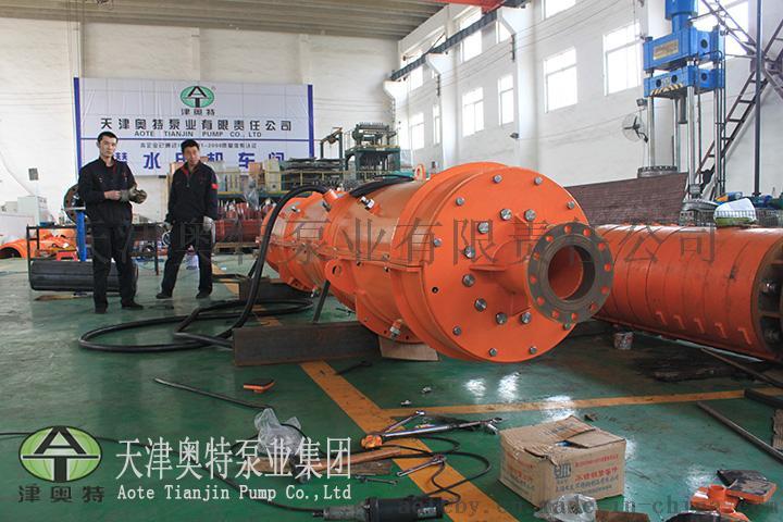 铁矿排水用的潜水泵(流量大扬程高)_4  转速IPX8实力派矿井潜水泵生产厂家697452942