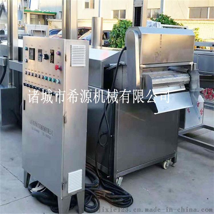 诚信厂家 浙江小黄鱼上浆上粉油炸流水线 免费安装118652492