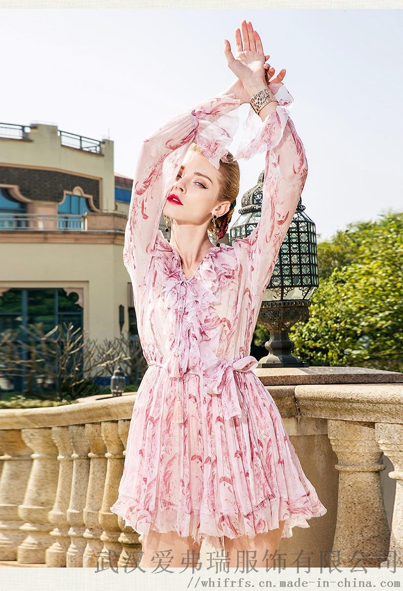 卡尼歐2020春五分袖寬鬆中長款裙子進貨要注意什麼893542935