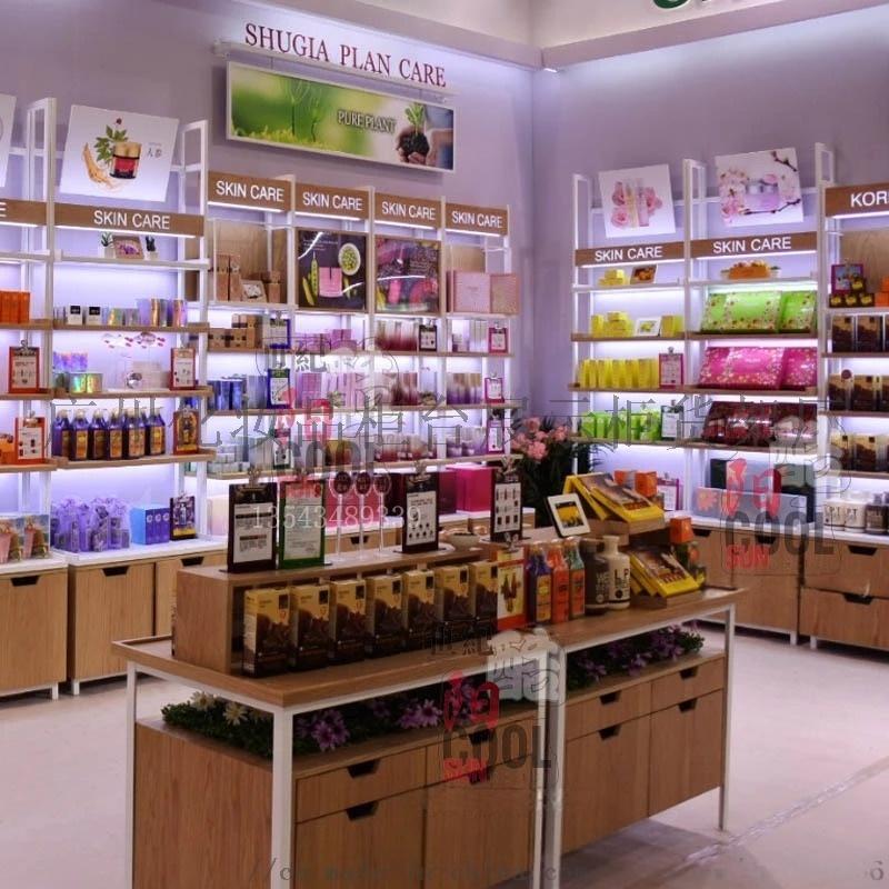 化妝品展櫃護膚品店展示櫃貨櫃貨架櫃檯背櫃簡約現代美容院產品櫃1 (3).jpg