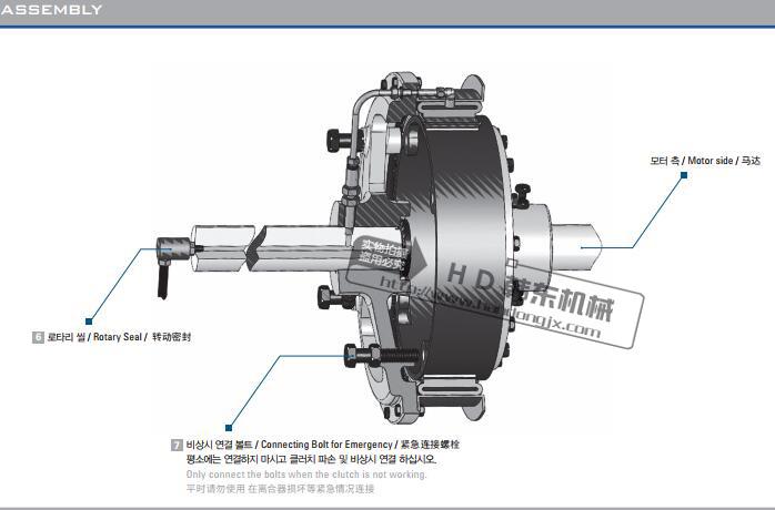 豪沃斯SH-10、SH-12鼓型氣胎離合器94456765