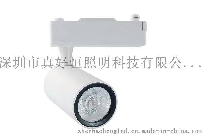 好恆照明專業生產LED軌道燈30W 光效110lm/w 進口晶片 導軌燈 服裝店射燈 展廳射燈 商場 超市專用射燈 廠家直銷759027455