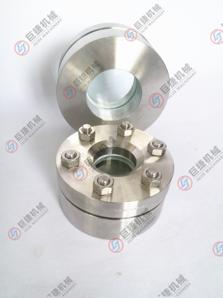 不锈钢法兰视镜 HG/T21619对夹法兰视镜37656695