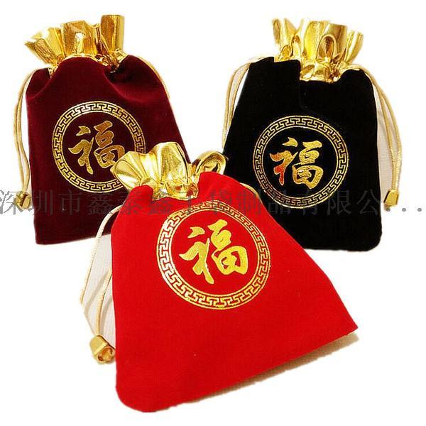 精美束口拉绳礼品珠宝首饰袋120349725