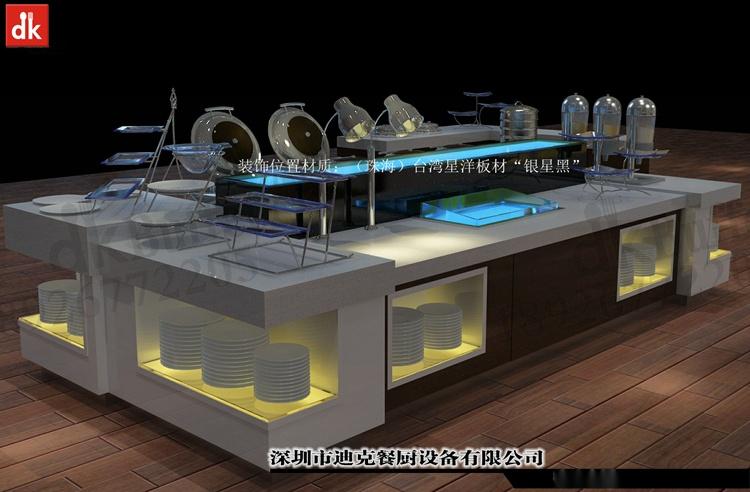 迪克餐廚設計 移動布菲臺專業定製 配套自助餐檯設備92879665