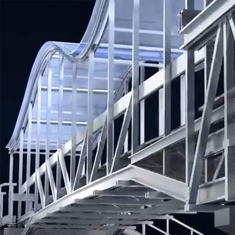 铝桥|铝合金天桥|铝合金人行天桥厂家兴发铝业920544395