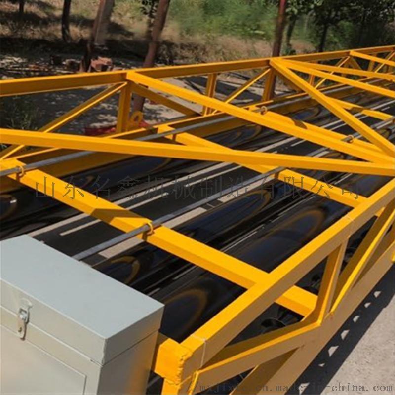三滚轴摊铺机 三滚轴桥面摊铺机 混凝土路面振动梁109614842
