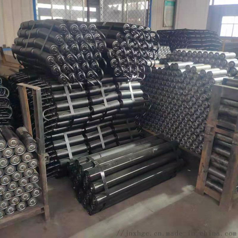 焦化厂一米皮带机槽形托辊组 108挂钩槽形托辊组131534972
