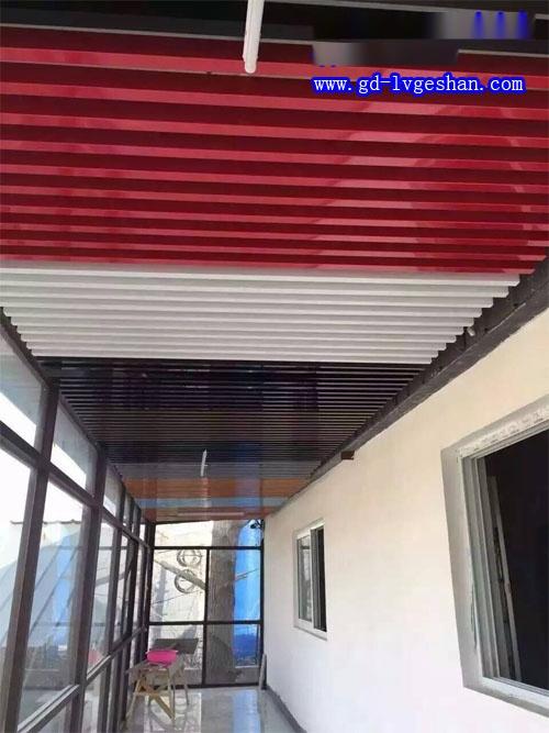 彩色组合铝方通天花 铝方通吊顶贴图 过道铝天花贴图.jpg