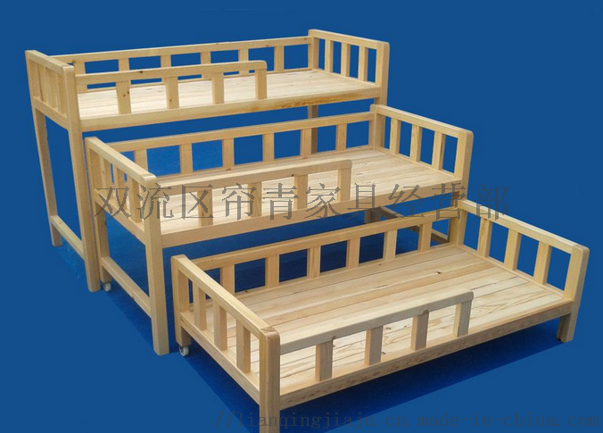 绵阳幼儿园家具双层床多层床定做实木材质921352435