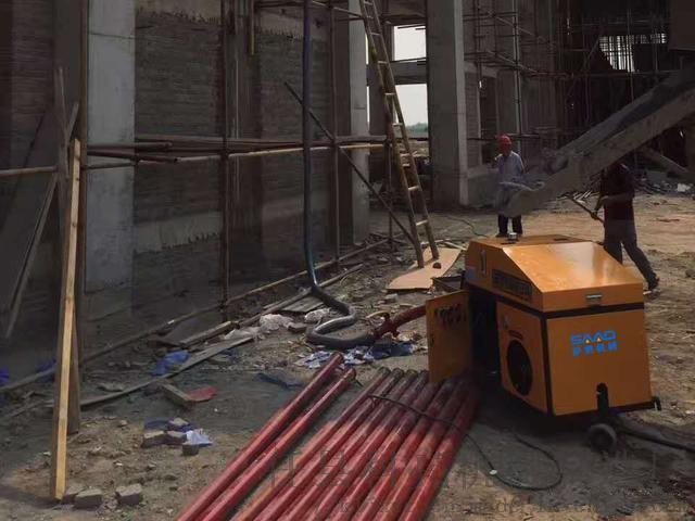 小型二次结构浇筑泵车浇筑机器设计优质选材757748762