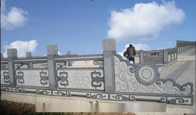 石雕栏杆厂家 青白石栏杆 花岗岩栏板 石雕围栏63895802