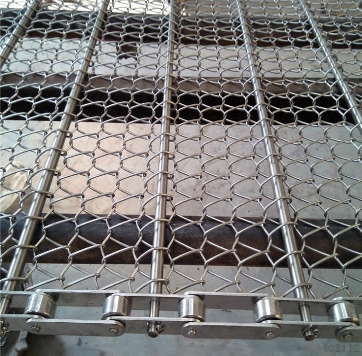 不锈钢网带链条式输送网带耐高温烘干机金属网带762409042