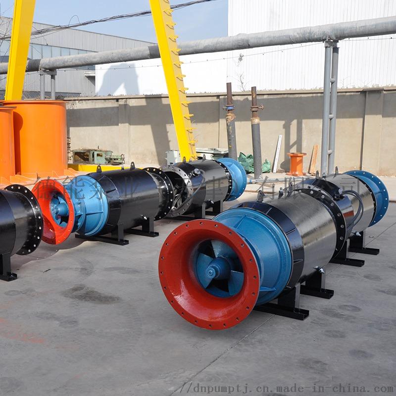 卧式安装轴流泵雪橇桶式安放836282542