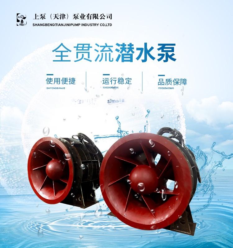 湿定子结构QGWZ贯流泵厂家913822565