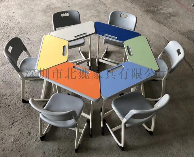 广东KZY001学生塑钢课桌椅厂家直销121334015